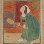 Peinture à fresco : la petite Boulangère